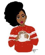black girl christmas